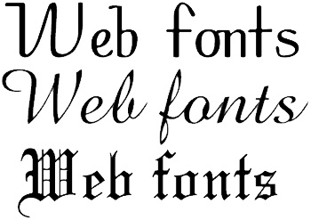 Words or Pictures? Why Website Fonts May Be More Important Than Graphics