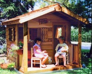 Design a Custom Made Child's Playhouse in 5 Simple Steps