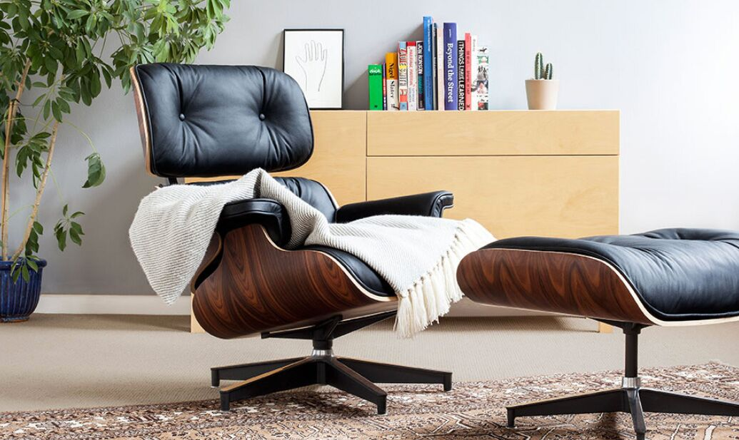 The making of an Eames lounge chair