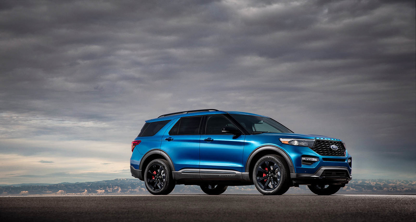 The Yin and Yang of the Ford Explorer 2020: Premieres an ST version of 405 HP and another hybrid