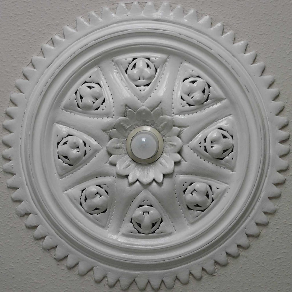 A Short History of the Ceiling Rose