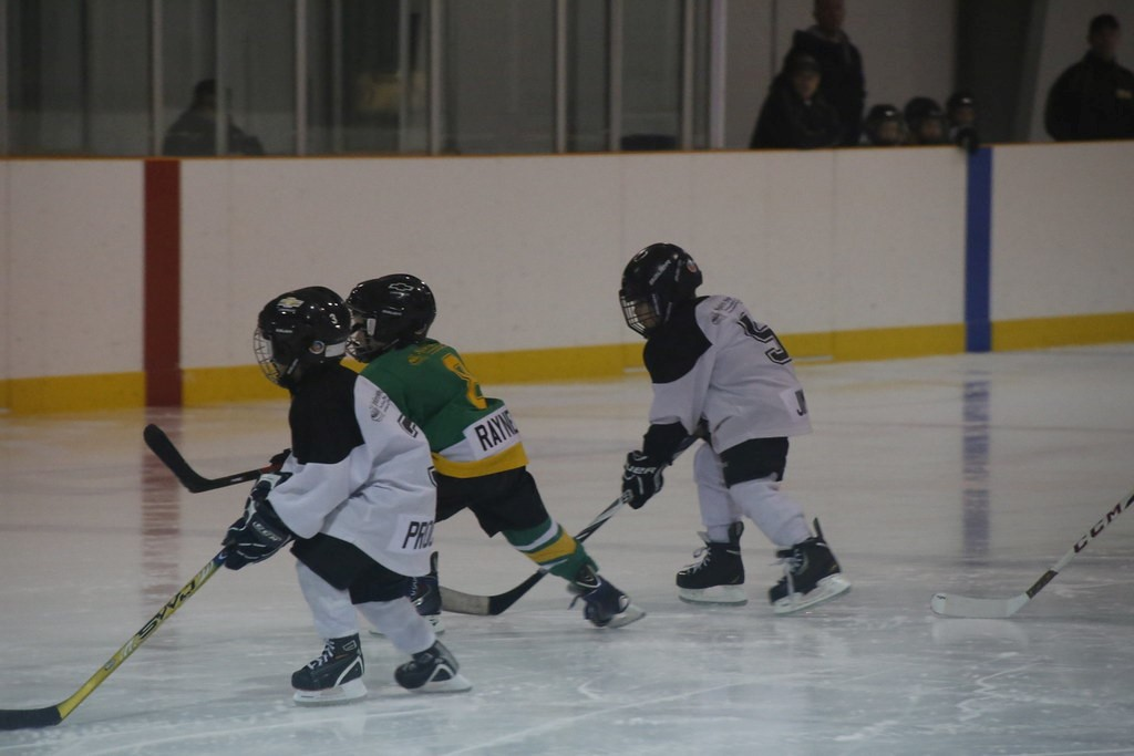 Why it's beneficial for kids to play ice hockey at any age