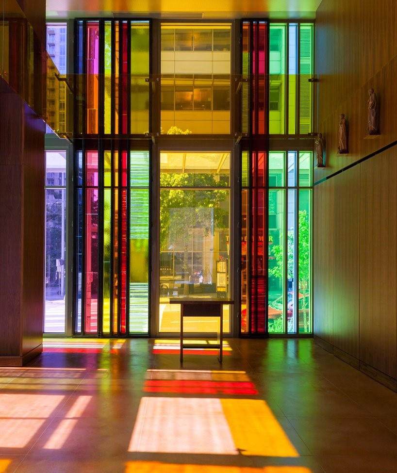 The benefits of coloured glass