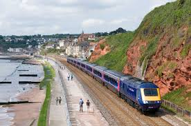Let the train take the strain in England.