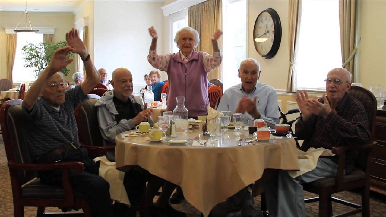 Why is it important for the elderly to socialize?