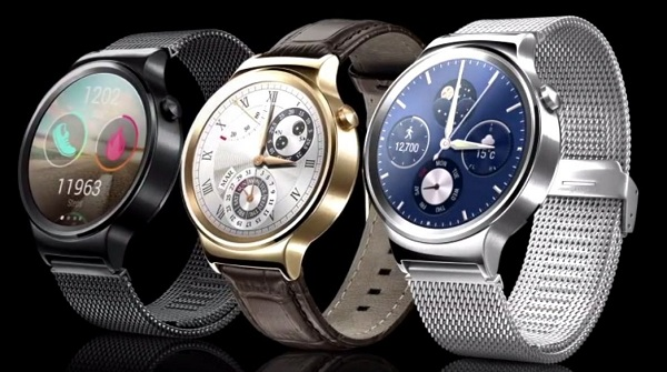 Huawei Watch, a sleek design, and Android Wear not just be round