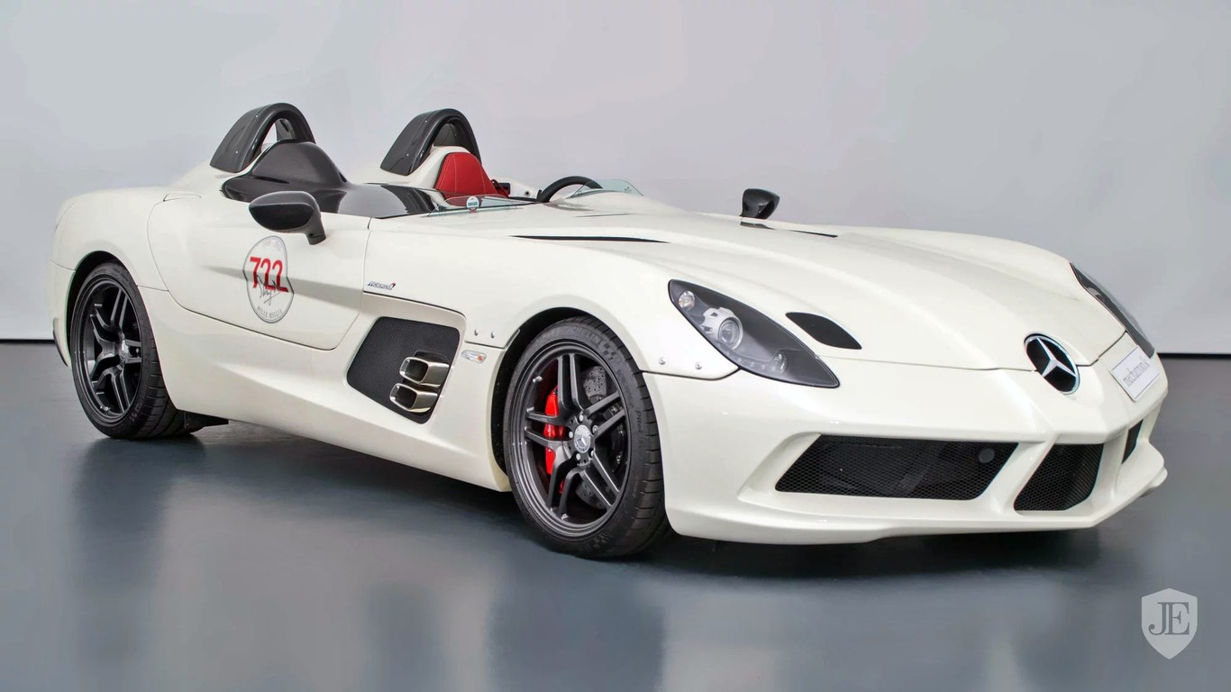 If you are looking for a Mercedes-Benz SLR McLaren Stirling Moss you are in luck, if you have 3 million dollars
