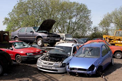 How do I scrap my car?